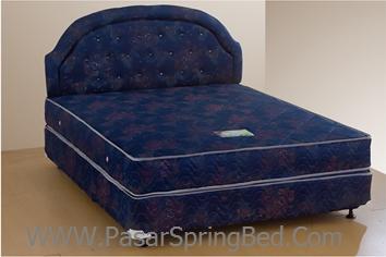 UNILAND Standard - Headboard Flamboyant Spring Bed - toko springbed jual springbed harga springbed murah dijual springbed