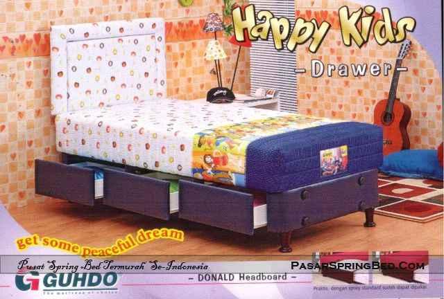Guhdo Happy Kids Drawer - Headboard Donald - toko springbed jual springbed harga springbed murah dijual springbed 1