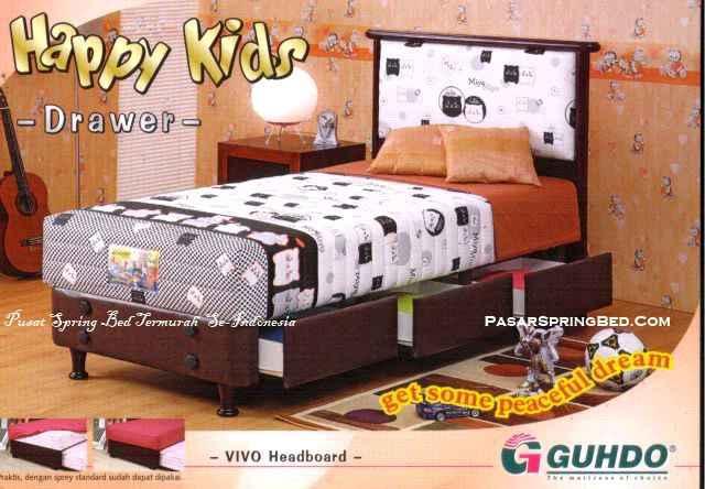 Guhdo Happy Kids Drawer - Headboard Vivo - toko springbed jual springbed harga springbed murah dijual springbed 1
