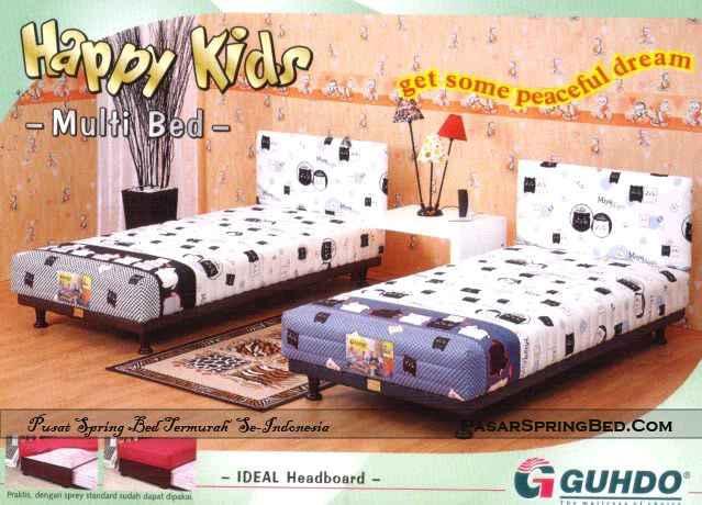 Guhdo Happy Kids Multi Bed - Headboard Ideal - toko springbed jual springbed harga springbed murah dijual springbed 1