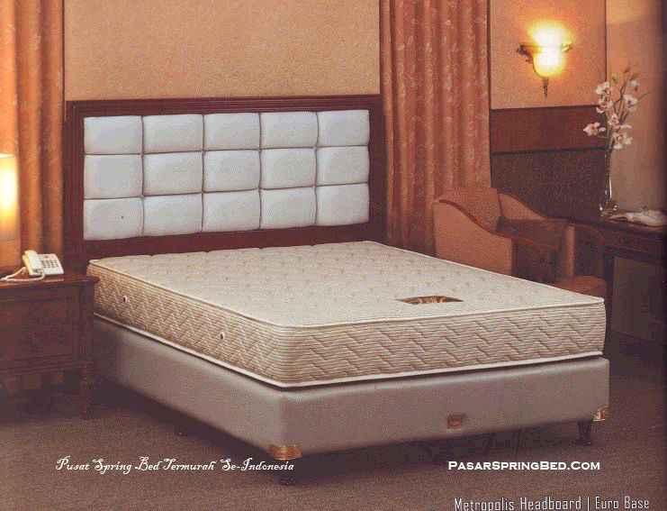 Guhdo Individual Response Hotel Bed - Headboard Metropolis Base Euro - toko springbed jual springbed harga springbed murah dijual springbed 1