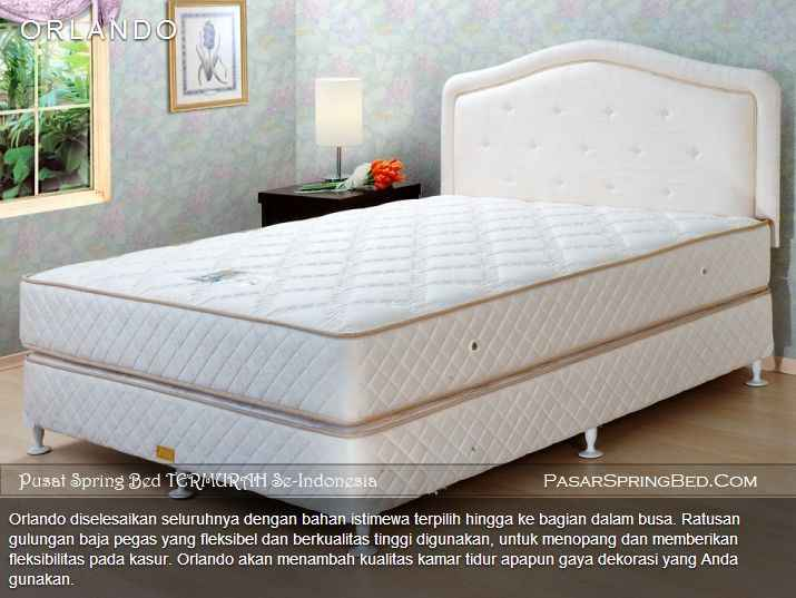 harga central spring bed
