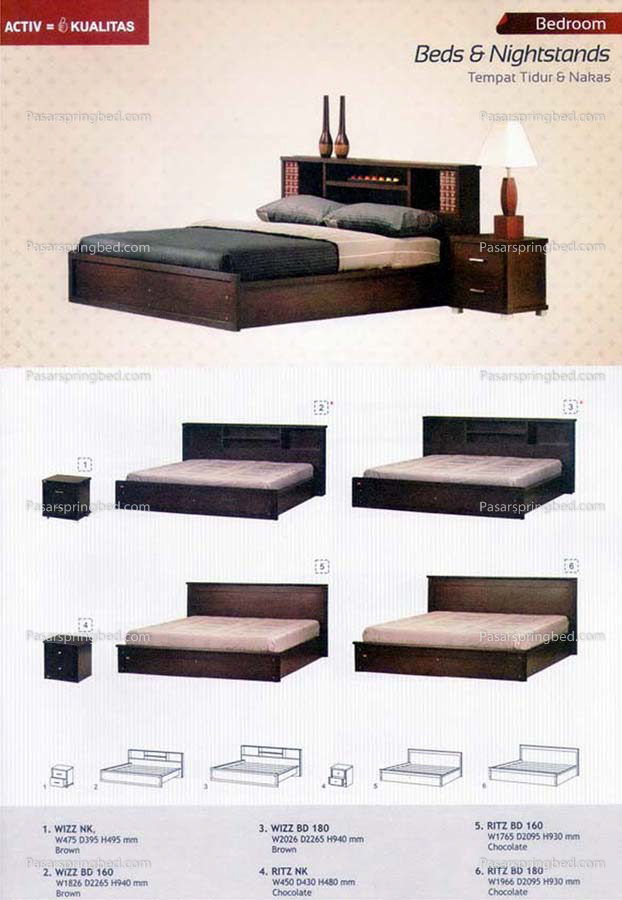 ACTIV Beds & Nighstand 2