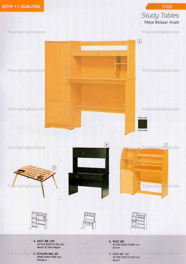 ACTIV Kids Study Desks 2