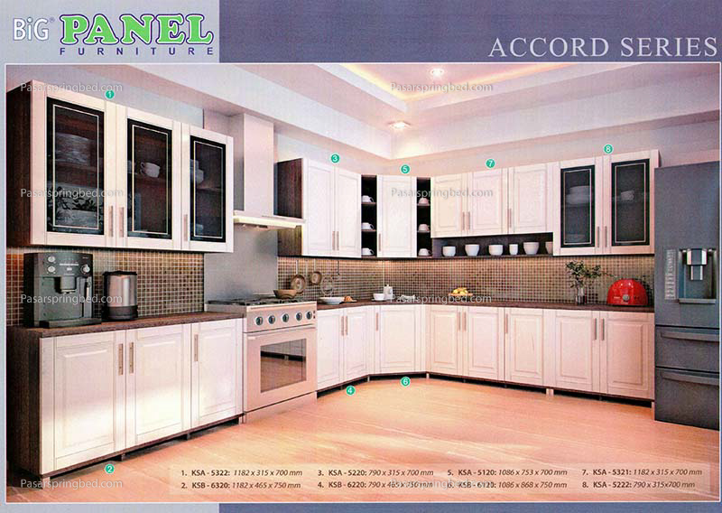 BIGPANEL Kitchens Accord 1