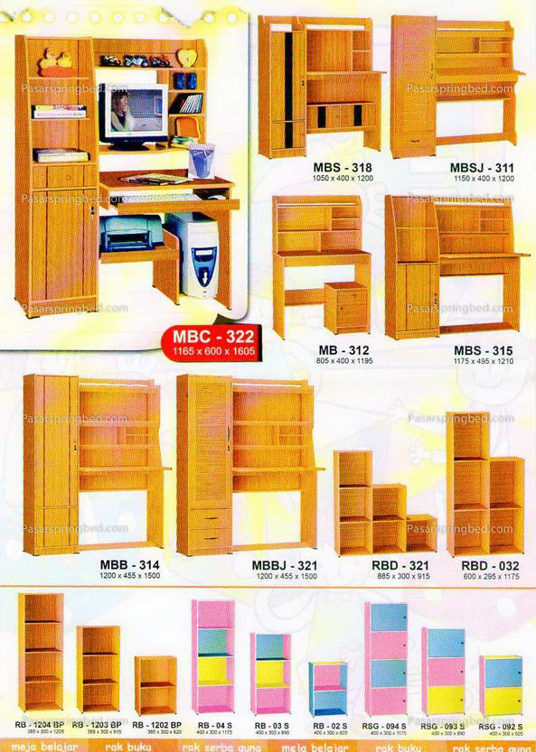 BIG Panel Study Desks & Cupboard