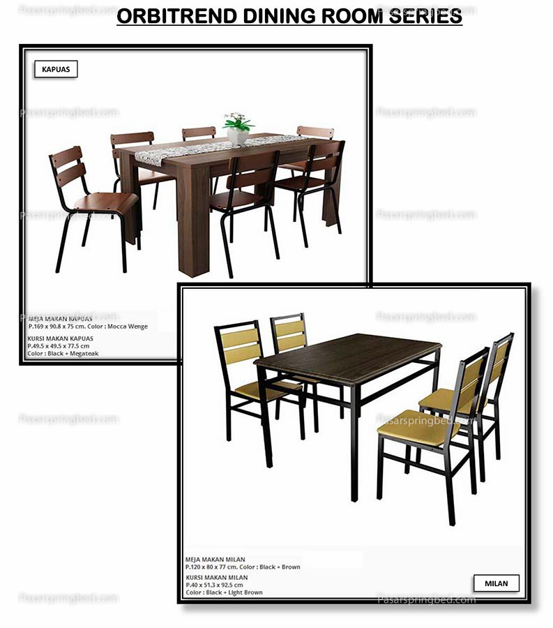 Orbitrend Dining Room Series