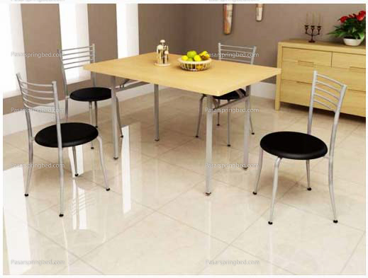 Orbitrend Folding Table Beech Color