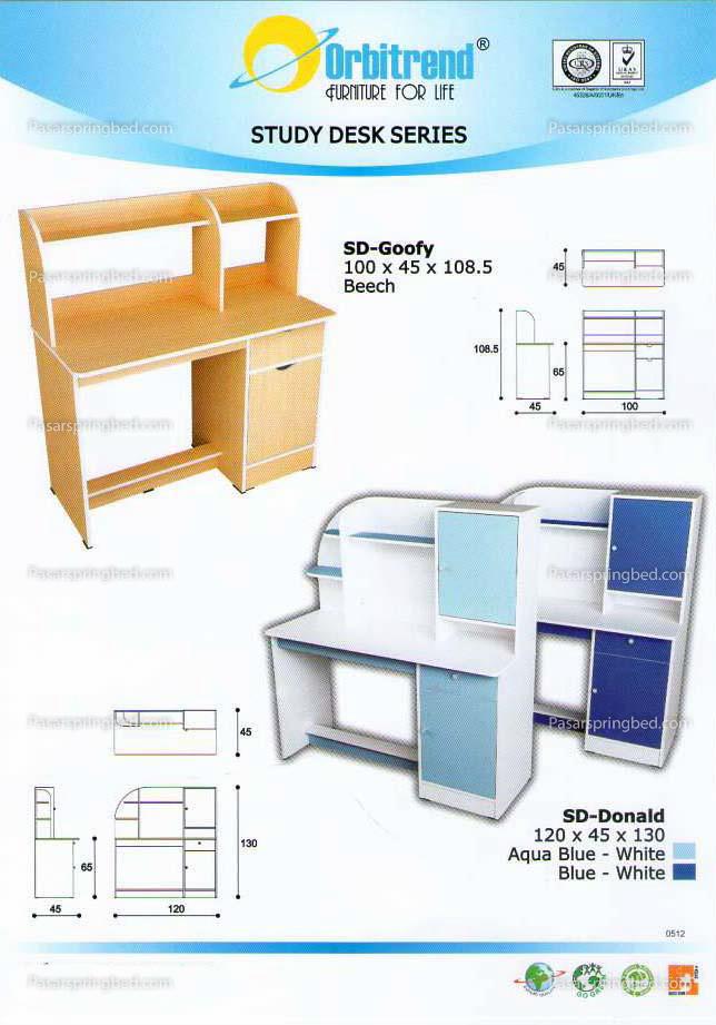 Orbitrend Study Desk