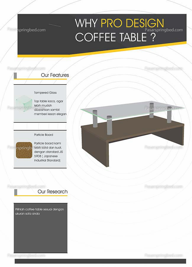 Pro Design Coffe Tables 1