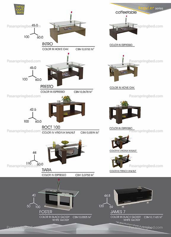 Pro Design Coffe Tables 3