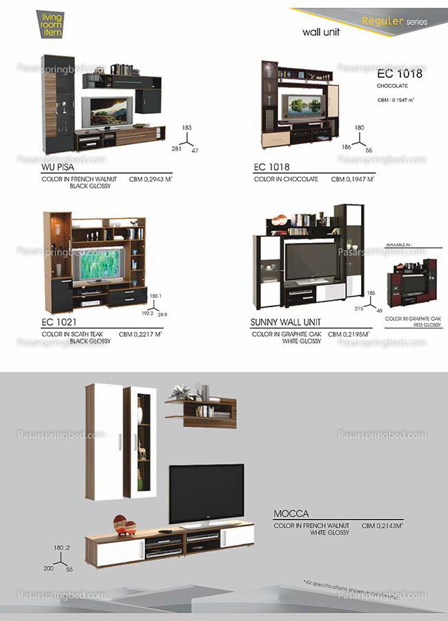 Pro Design Wall Units 2